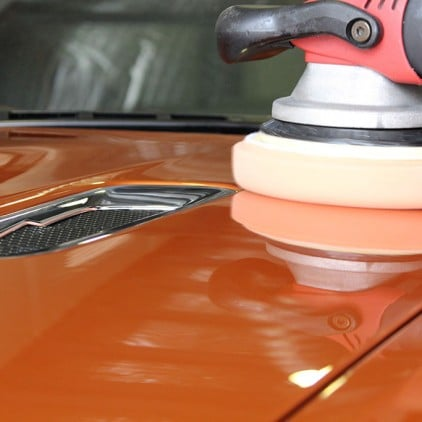 Aston Martin Virage - Machine Polishing