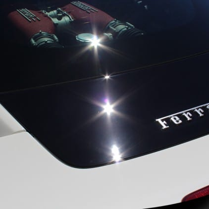 Ferrari - Paint Correction - Detail - Ceramic Pro