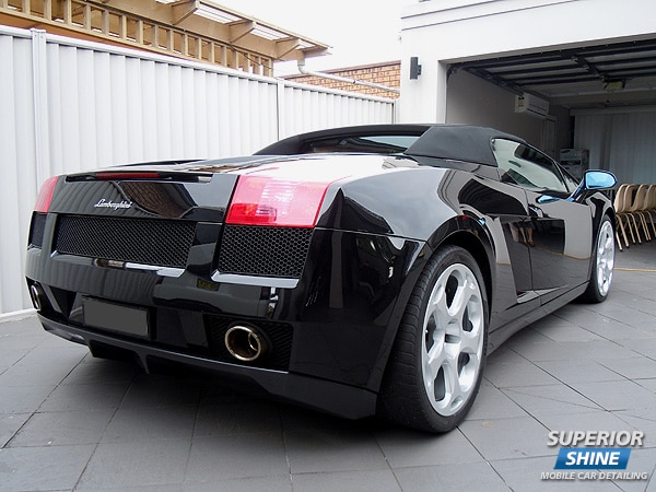 Lamborghini Gallardo Detailed