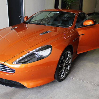 Aston Martin Virage - After Paint Protection